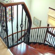 铁艺楼梯装修效果图