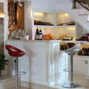 唯美厨房吧台设计