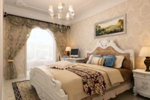欧式卧室飘窗效果图