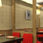 时尚餐厅装修效果图