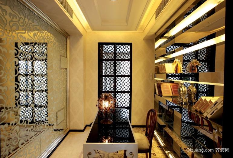 120平米小书房装修效果图