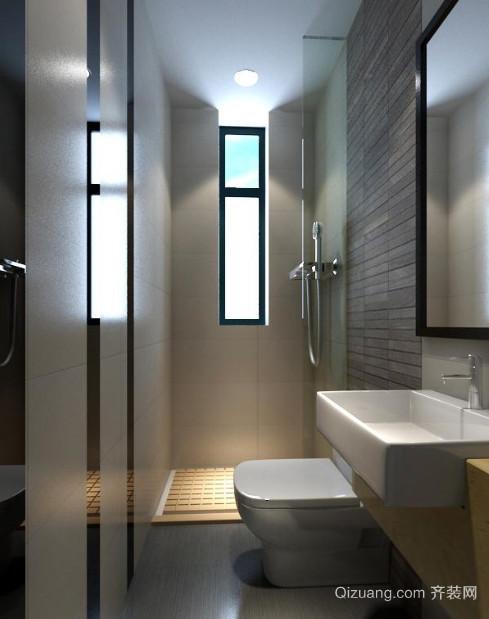 现代简约风格小卫生间装修效果图