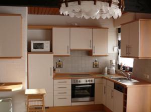 两室一厅日式简约厨房装修效果图