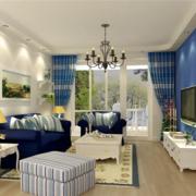 舒适客厅装修效果图