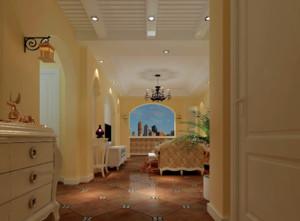 100平米欧式客厅过道装修效果图