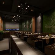 咖啡厅灯光设计