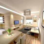 精致公寓装修效果图