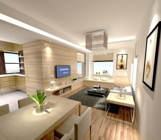 都市女性安全单身公寓装修效果图
