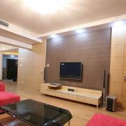 豪华电视背景墙设计