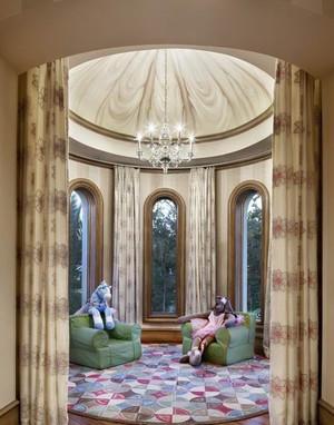 地中海风格别墅阳台设计装修效果图