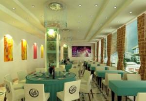 90后主题餐厅的装修效果图