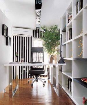 跃层小书房设计装修效果图