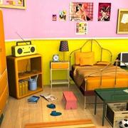 唯美儿童房装修效果图