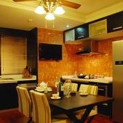 精美厨房灯光设计