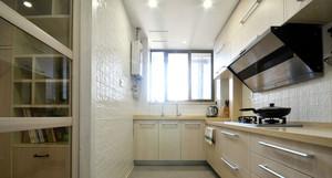 地中海风格小户型厨房移门装修效果图