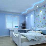 唯美卧室装修效果图