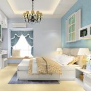 都市卧室装修效果图