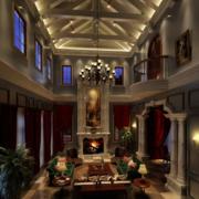 客厅吊顶装修效果图
