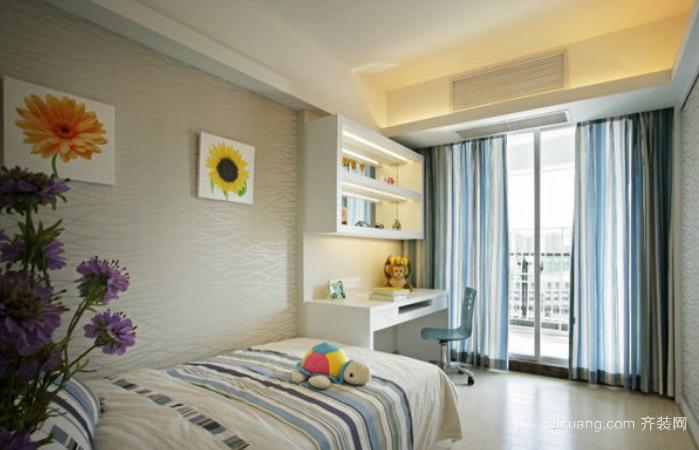 清新简约韩式小卧室装修效果图