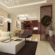 都市豪华客厅设计