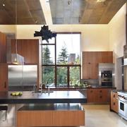 精致厨房装修效果图