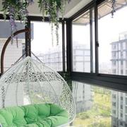 舒适的家庭阳台设计