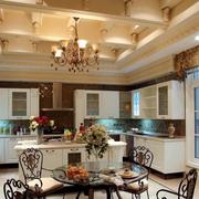 豪华厨房装修效果图