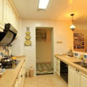 欧式厨房灯光设计