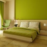 明亮卧室装修效果图