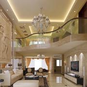 别墅型客厅装修效果图