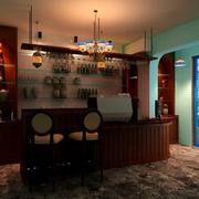现代咖啡厅装修效果图