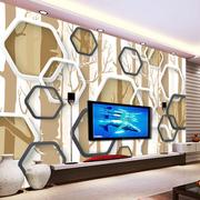 欧式电视背景墙造型