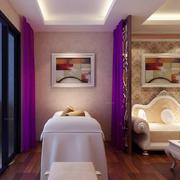 神秘紫色美容院