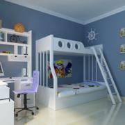 色调唯美的儿童房