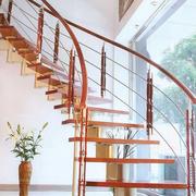 别墅型豪华旋转楼梯