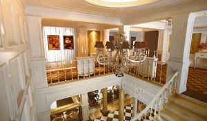 超大户型法式风格楼梯设计装修效果图鉴赏