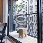 都市阳台扶手设计