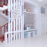 亮色楼梯设计