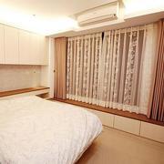 都市卧室窗帘设计