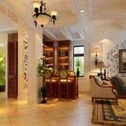 豪华精致美式客厅