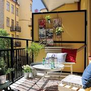 环境温馨的阳台花园
