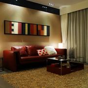 欧式沙发背景墙灯光设计
