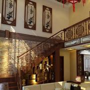 传统中式楼梯设计