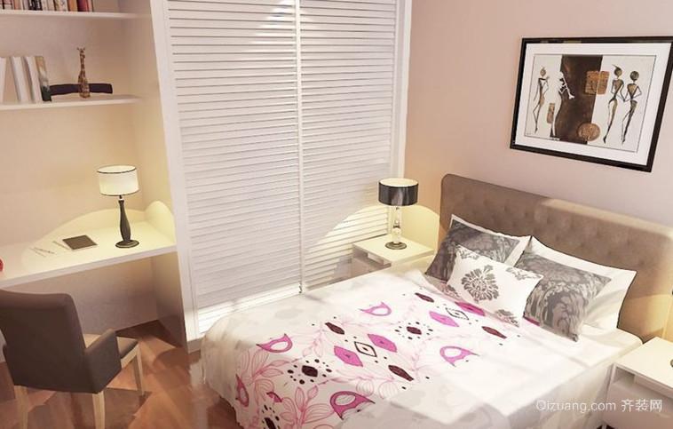 都市大户型卧室背景墙装修效果图鉴赏
