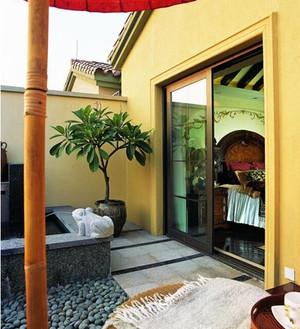 风景迷人的露台花园装修效果图