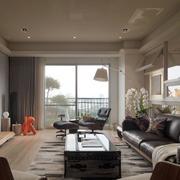欧式客厅飘窗设计