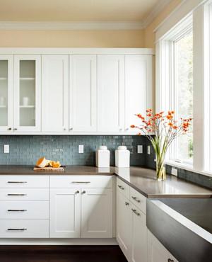 北欧别墅厨房橱柜装修效果图