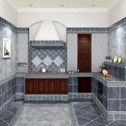 欧式厨房瓷砖背景墙