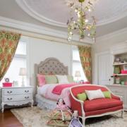 轻快卧室窗帘设计