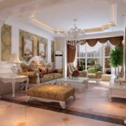精彩的客厅窗帘
